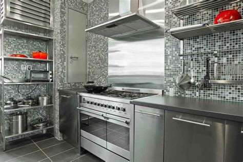 stainless steel kitchen designs modern ikea stainless steel backsplash homesfeed