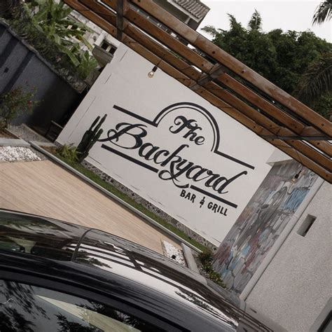 is backyard one word or two backyard wants to be your new favorite restaurant in lagos
