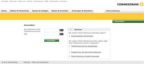 login toyota bank de erstmalige registrierung commerzbanking login gr 252 ne aktien