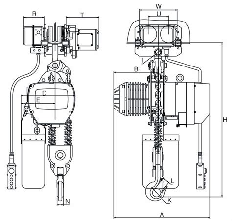 jet electric chain hoist wiring diagram electrical