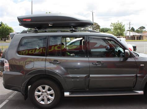 Cross Bar Hitam Jepit Roof Rail Mitsubishi Pajero Sport 2015 mitsubishi pajero roof rack whispbar cross bar yakima