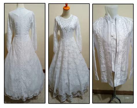 Gaun Pengantin Warna Putih Murah sewa gaun kebaya pengantin adelia makeup