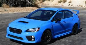 Blue Subaru Wrx 2016 Subaru Wrx Sti Series Hyperblue Drive Digital