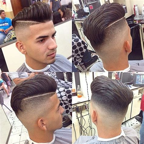 shaved in parting for boys men s hair haircuts fade haircuts short medium long