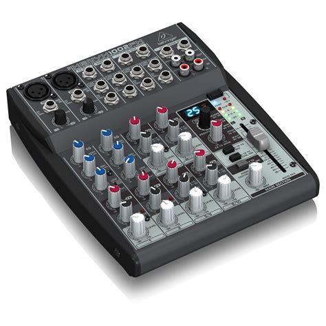 behringer xenyx 1002fx mixer at gear4music
