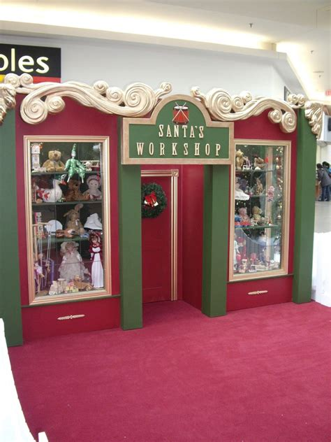 santa workshop cubicles ideas outdoor decorations santa s workshop building the concept is santa s workshop with a