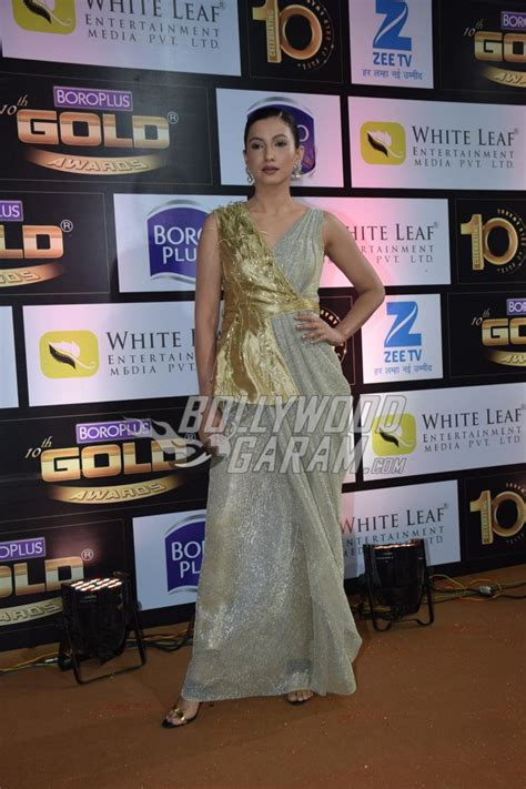 television fraternity flocks to gold carpet of zee gold