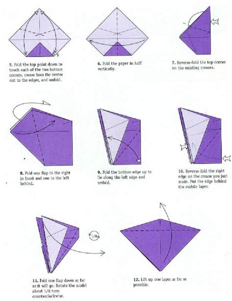 How To Make Complicated Origami - crane origami difficult model
