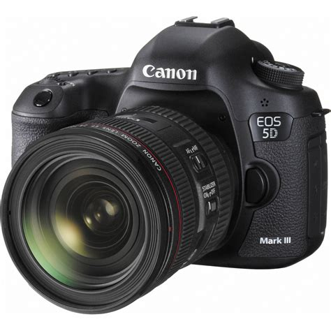 5d canon canon eos 5d iii dslr with 24 70mm lens