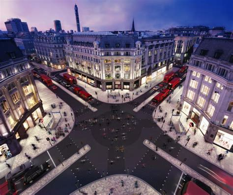 oxford circus oxford circus diagonal crossing design projects
