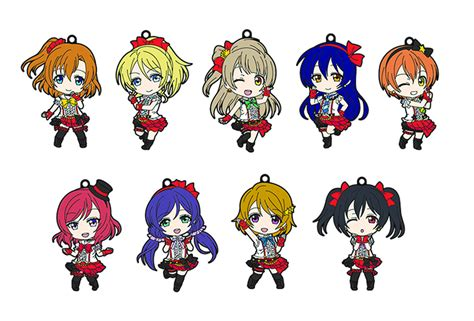 Nendoroid Plus Trading Rubber Straps Lovelive Maki Apr158795 Live Nendoroid Plus Trading Straps Ser 01