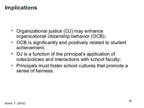 Organizational Citizenship Behavior Mba Ppt by 2012 Vera Conference Presentation On Organizational