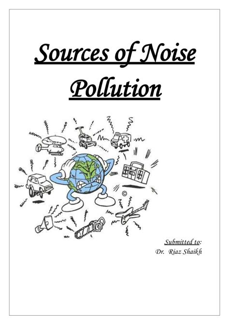 Of Noise Sources Of Noise Pollution