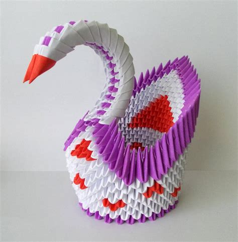 Origami Moving Swan - what is 3d origami of pakistan