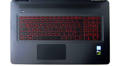 hp omen keyboard lights zocken bis der arzt kommt hp omen 17 w212ng im test