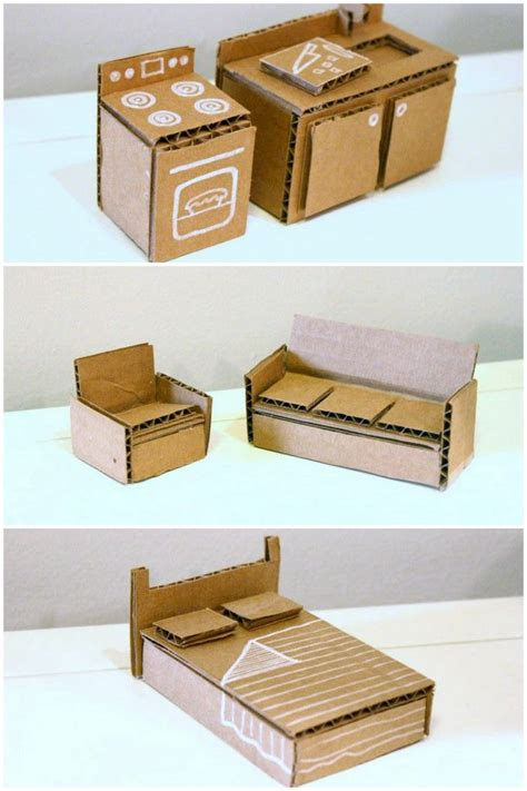 25 best ideas about cardboard dollhouse on