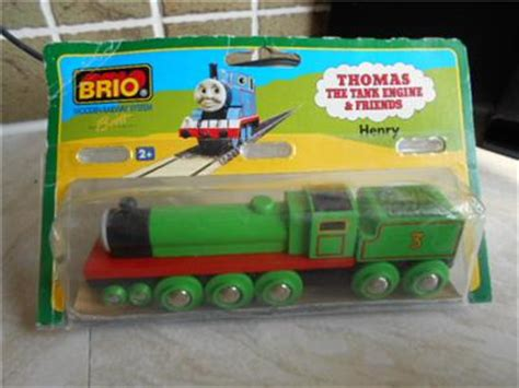 thomas the train brio set genuine brio thomas the tank engine henry tender wooden