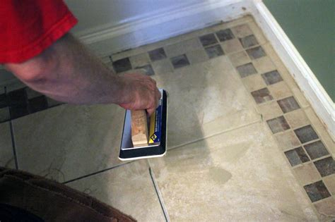 how to install tile in a bathroom how to install bathroom floor tile how tos diy