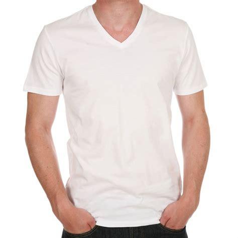 Tshirt V lot de 2 shirts blancs levis col v en coton rue des