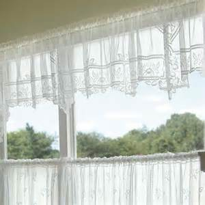 Sheer Valance Curtains Heirloom Valance Sheer Heritage Lace 9700e 6022p 9700w 6022p Lace Curtain Store