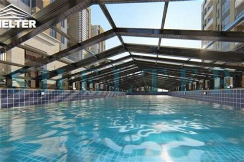 height telescopic pool enclosures residential swimming