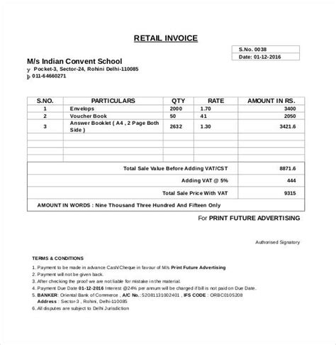 back charge form template microsoft invoice template 54 free word excel pdf