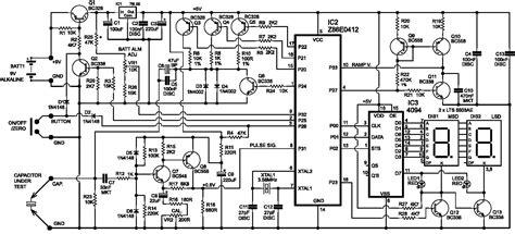esr meter schematic diy esr meter schematic diy crafts