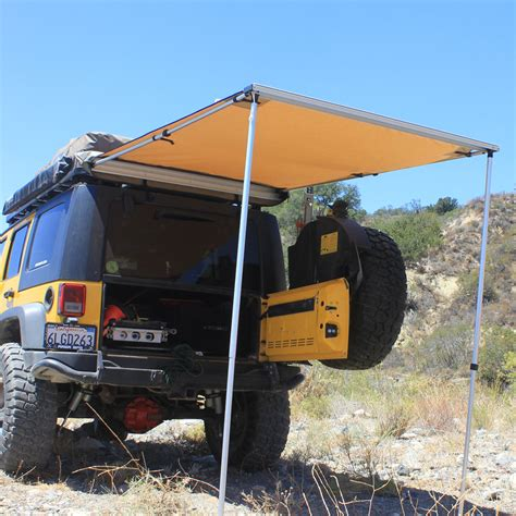 Road Vehicle Awnings by Tuff Stuff 174 4 5 X 6 Rooftop Awning Tuff Stuff 174 4x4
