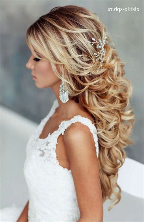 gorgeous bridal hair styles down dos historic kent manor inn beautiful long hairstyles for a wedding images styles