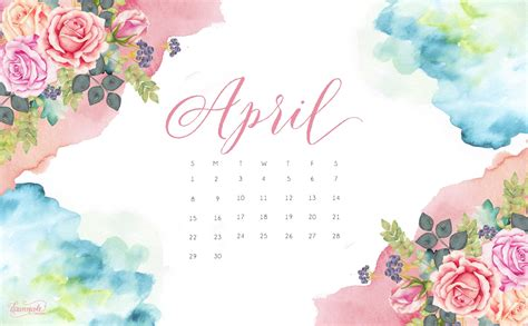 April Top april 2018 calendar wallpaper calendar 2018