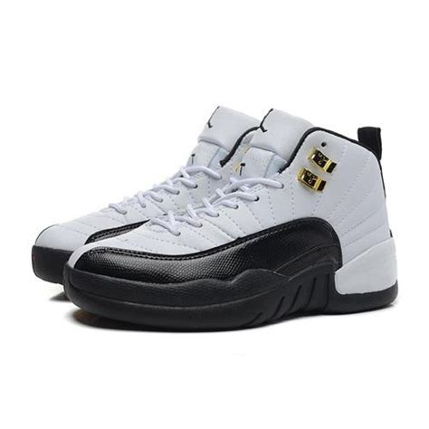cheap sneakers air 12 air sole high white black cheap white sneakers