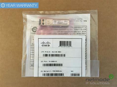 Cisco Sfp Transceiver Model Glc Sx Mmd new sealed original cisco glc sx mmd sfp gbic