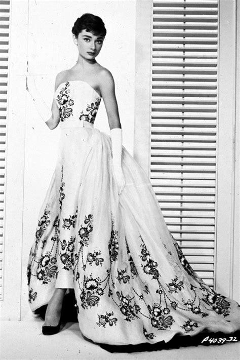 Dress Sabrina Flowers Vintage vintage wedding dress inspiration hepburn