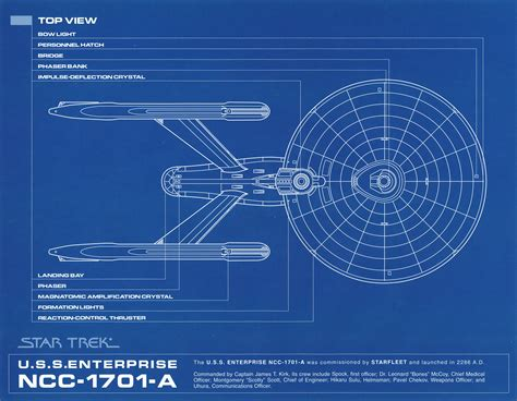 blueprints trek blueprint collection a portfolio set of 8