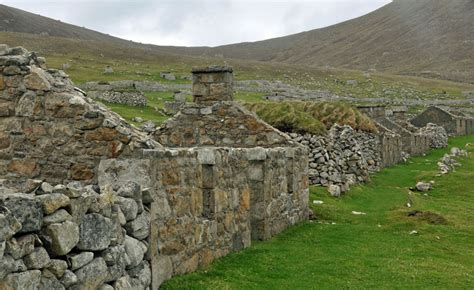 st kilda houses hebridean cruise may 2013 by margaret