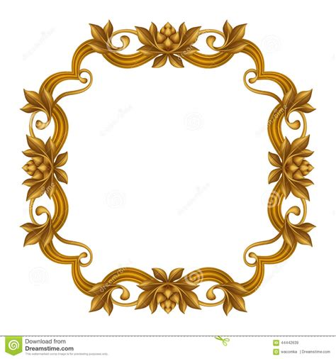 clipart frame vintage gold frame clipart clipartxtras