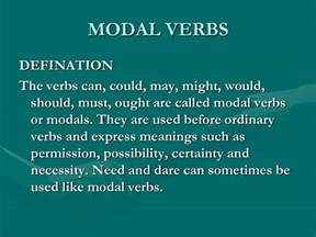 my english pages online modal verbs