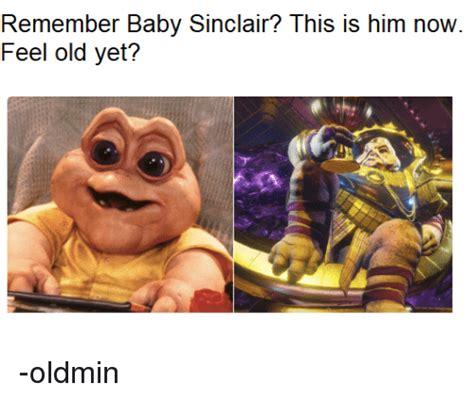 Baby Sinclair Meme - 25 best memes about baby sinclair baby sinclair memes