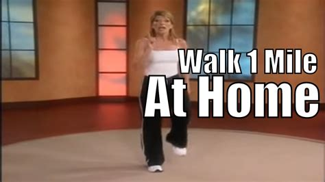 1 mile in home walk walking workout