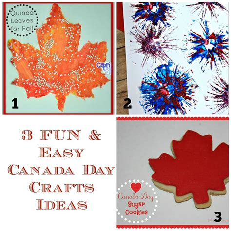 canadian crafts for canada day activities for