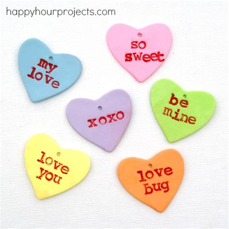 polymer clay gift tags for s day happy hour