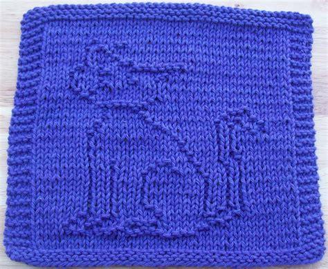 knitting pattern cat dishcloth digknitty designs cool cat knit dishcloth pattern
