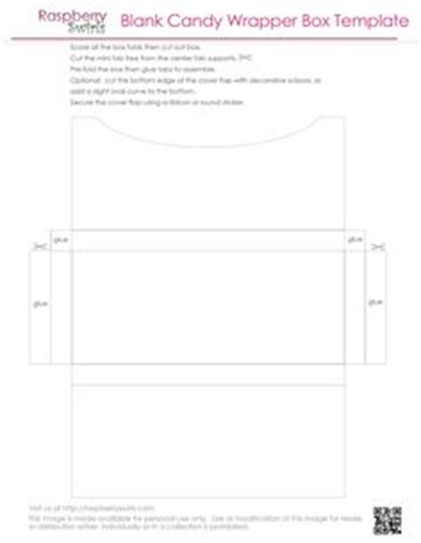 free printable chocolate candy bar wrapper box template