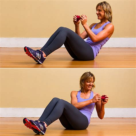 exercises for side abs popsugar fitness