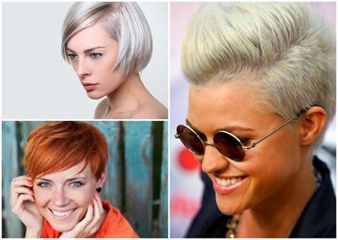 Haarfrisuren Trends 2016 by Freche Kurzhaarfrisuren Damen Trend Bob Frisuren