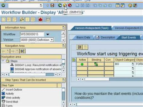 sap invoice approval workflow how to create an sap workflow approval definition part