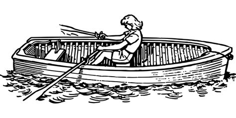 canoe boat clipart canoe clipart rowing boat pencil and in color canoe
