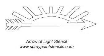 Arrow Of Light Certificate Template Arrow Of Light Stencil Gif 1200 215 656 Scouts Pinterest