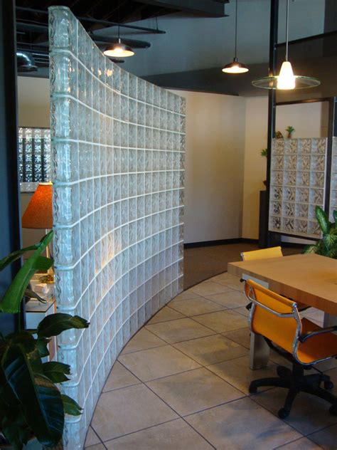 Glass Block Room Divider Glass Block Solutions