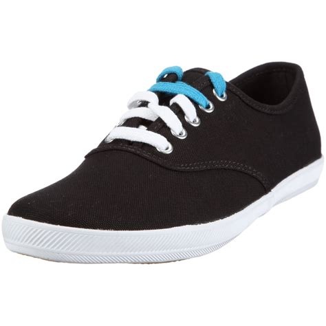 Keds Black White 1 keds mens chion cvo lace up in black for black